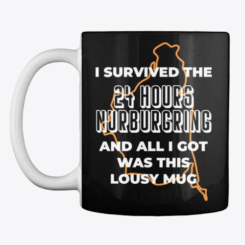 24hr Nurburgring Survivor Mug