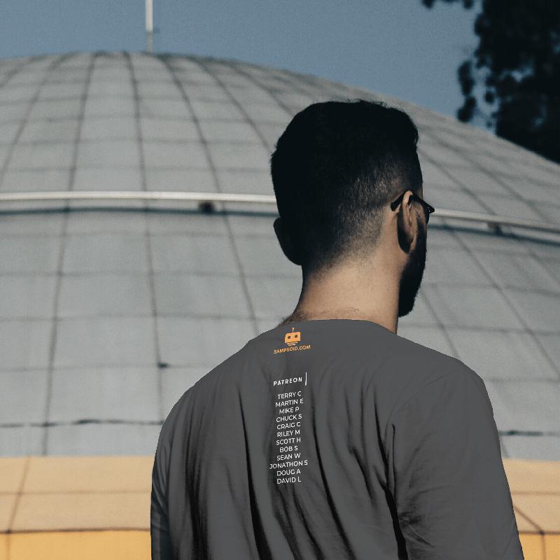 T-Shirt Back Patreon Names
