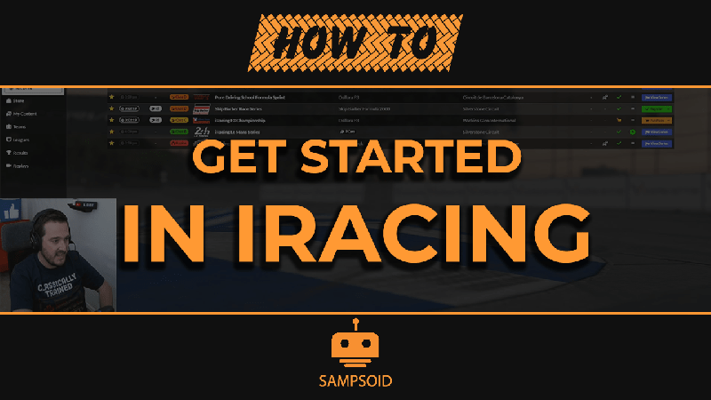 How to get started in iRacing
