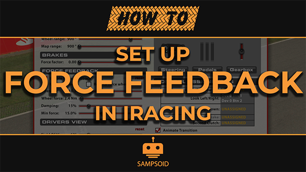 How to setup Force Feedback in iRacing