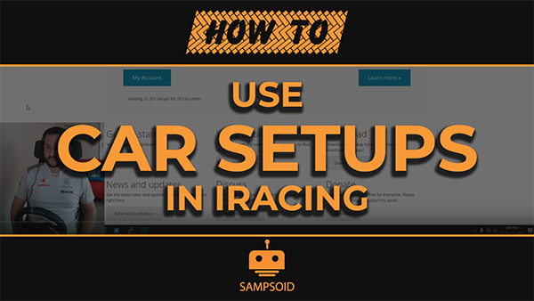How to use iRacing Car Setups