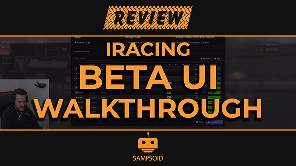 iRacing Beta UI Review and Walkthrough